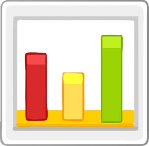 Bar clip art at. Chart clipart statistics