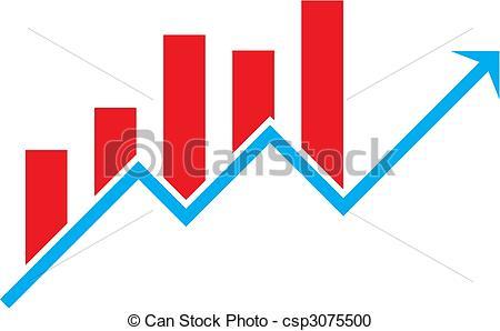 . Chart clipart stock chart