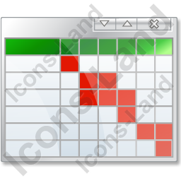 Chart clipart table chart. Gantt icon png ico