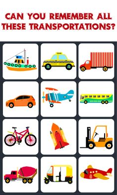 Chart clipart transportation. Word puzzles unit kids
