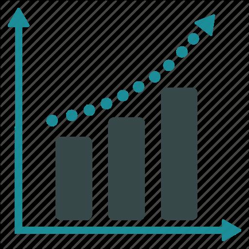 graph clipart positive graph