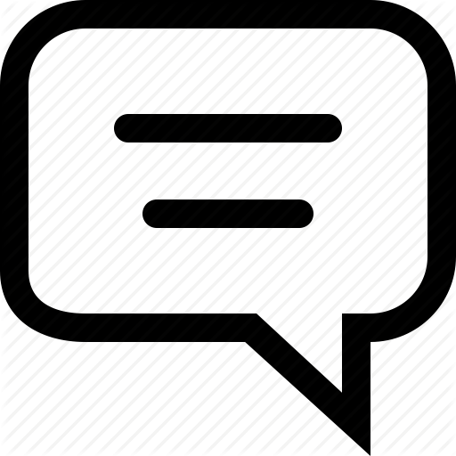 Chat icon png. Budicon communication by bubble