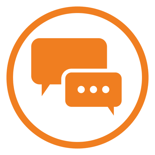 Service transparent svg vector. Chat icon png
