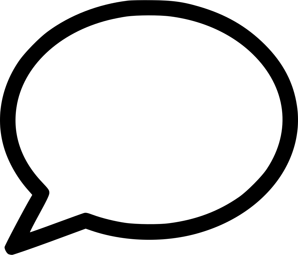 Bubble svg free download. Chat icon png