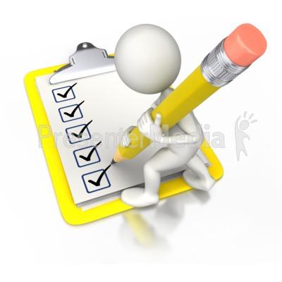 Checklist clipart animated. Paper check