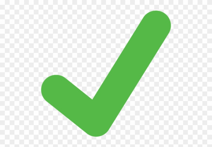 Checkmark clipart green. Tick light check mark