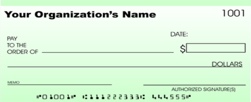 This is a picture of Printable Checks for Kids with regard to real
