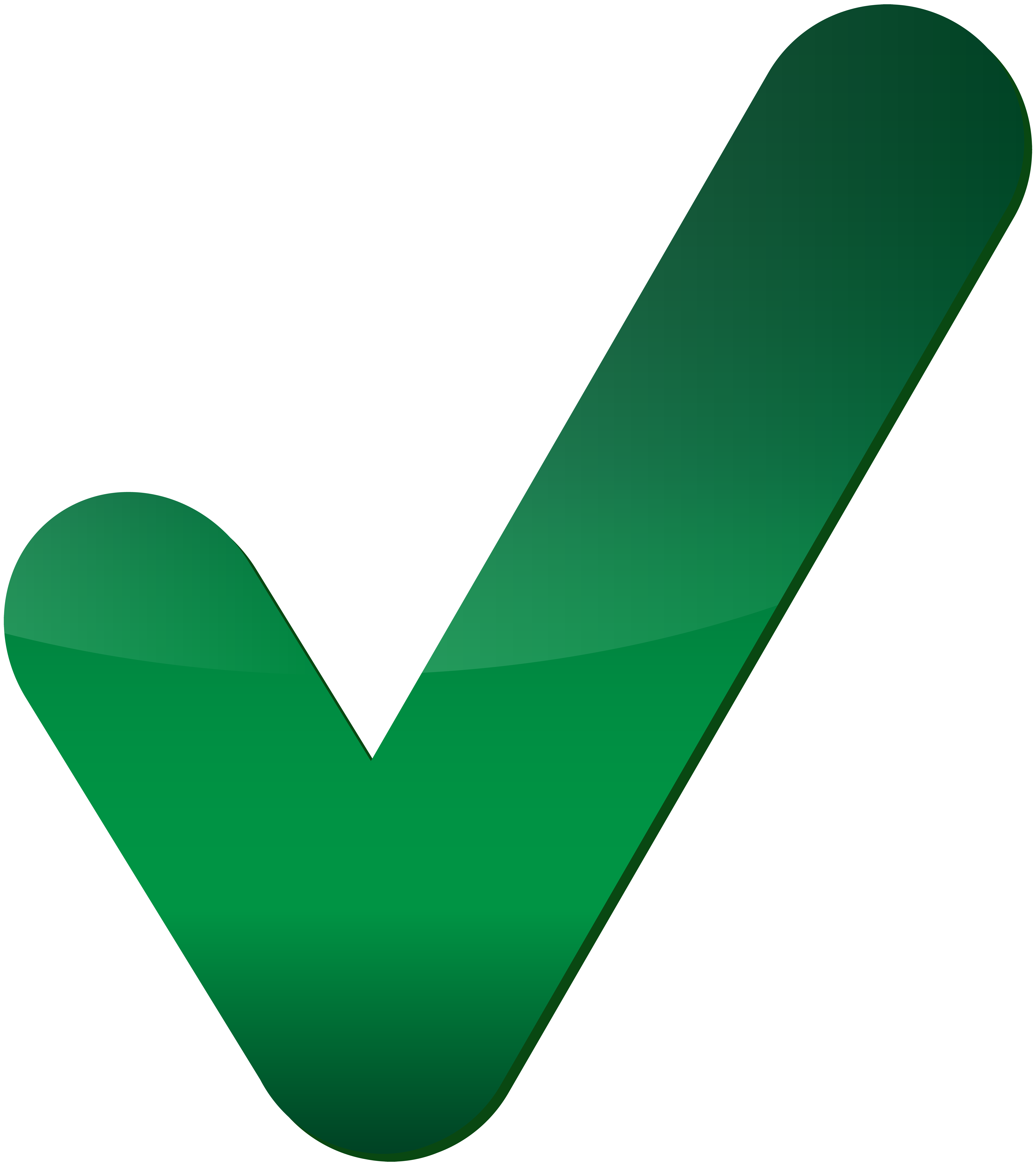 Green mark png clip. Check clipart transparent background