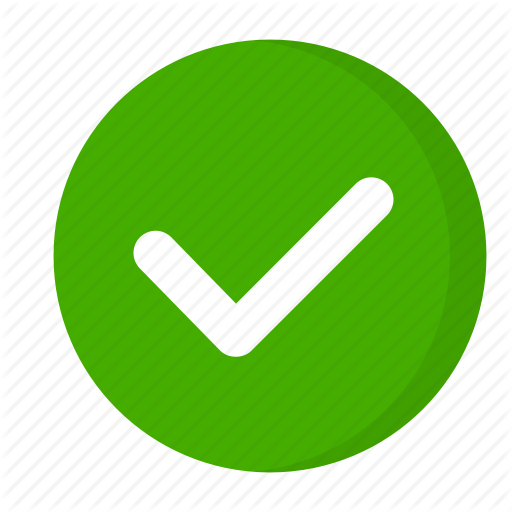 Check icon png. Weby flat vol by