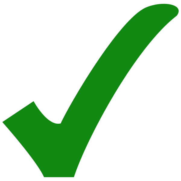 File green svg wikimedia. Check icon png