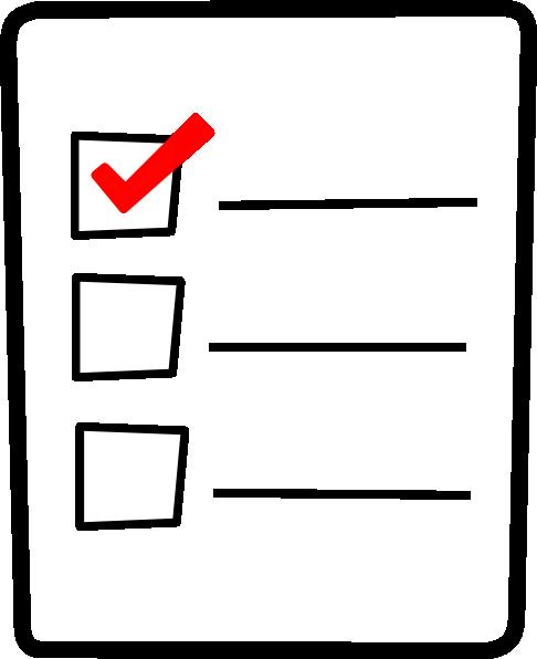 Panda free images checklistclipart. Checklist clipart