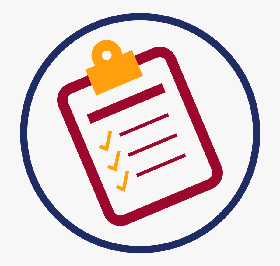 Practice clip art graphic. Checklist clipart