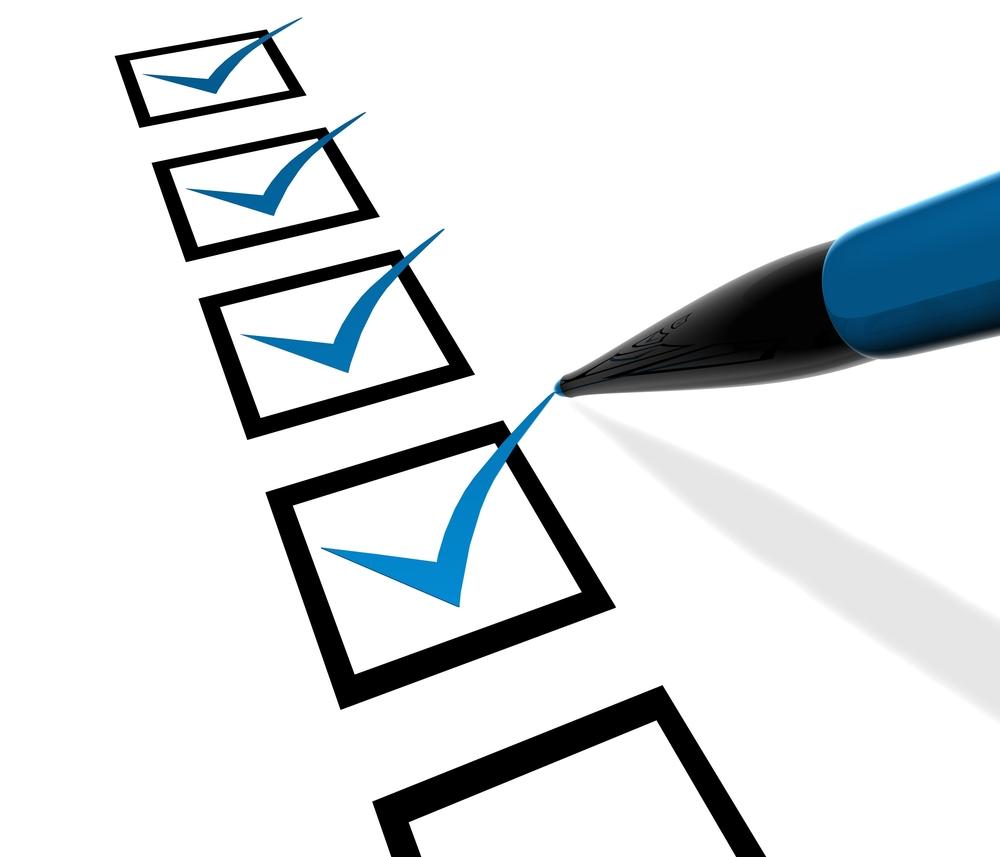 Organized clipart checksheet. Getting started checklist the