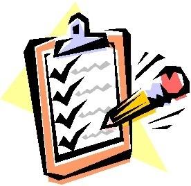 Check Clipart Checklist Picture 343615 Check Clipart Checklist