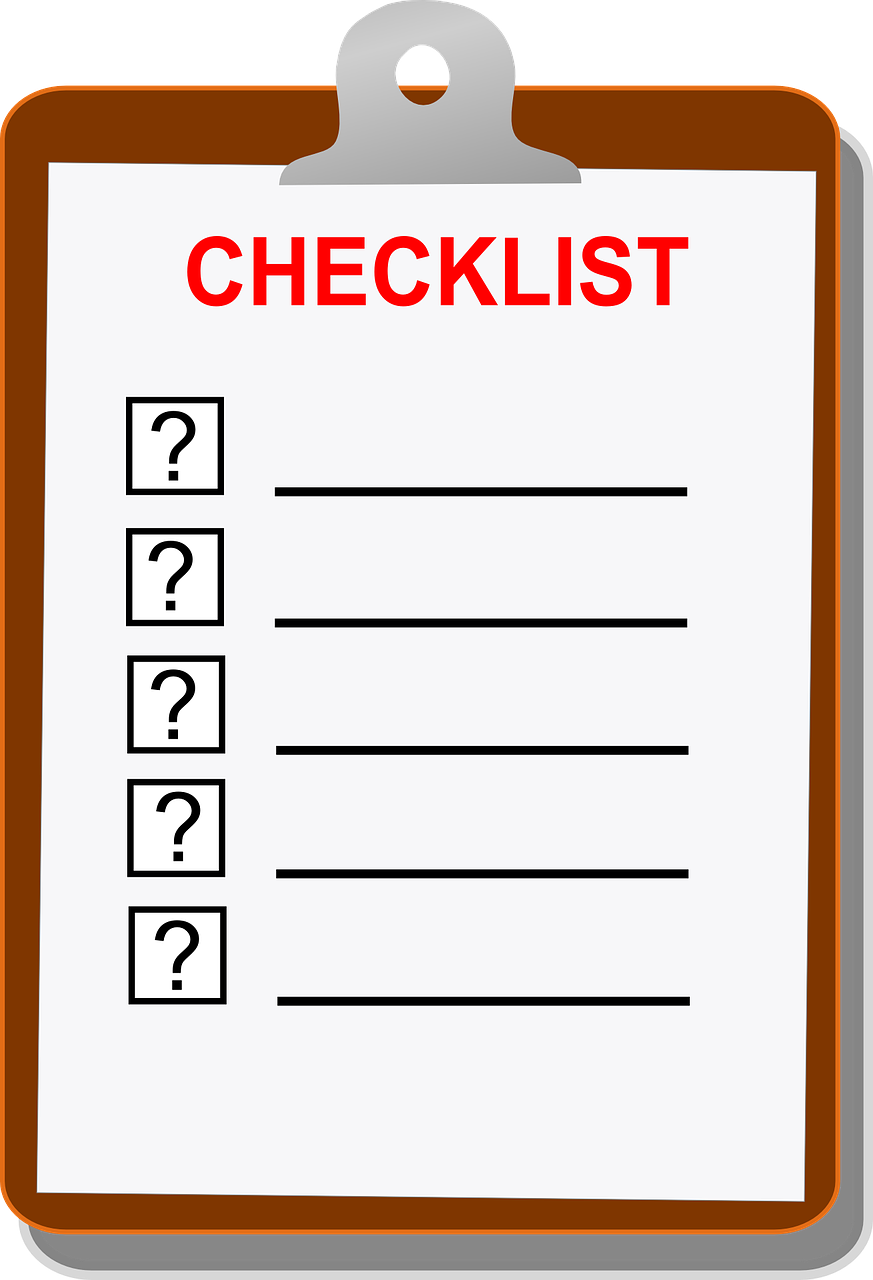 Planning clipart checklist. Build a pc edge