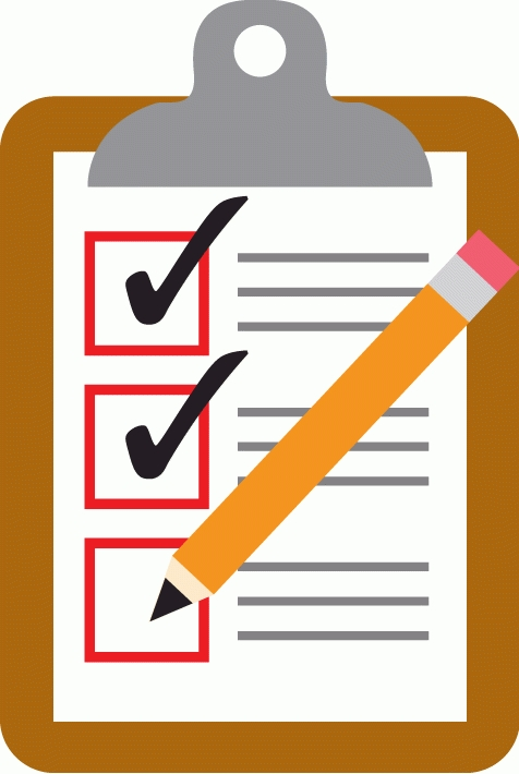 Clipboard clipart checklist. Letters example gif clipartix