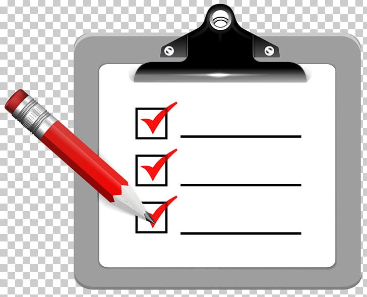 Clipboard clipart checklist. Computer icons png angle