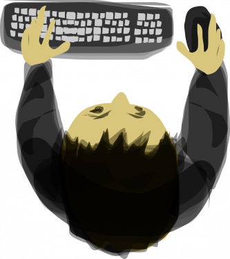 Typing skills paths to. Checklist clipart computer