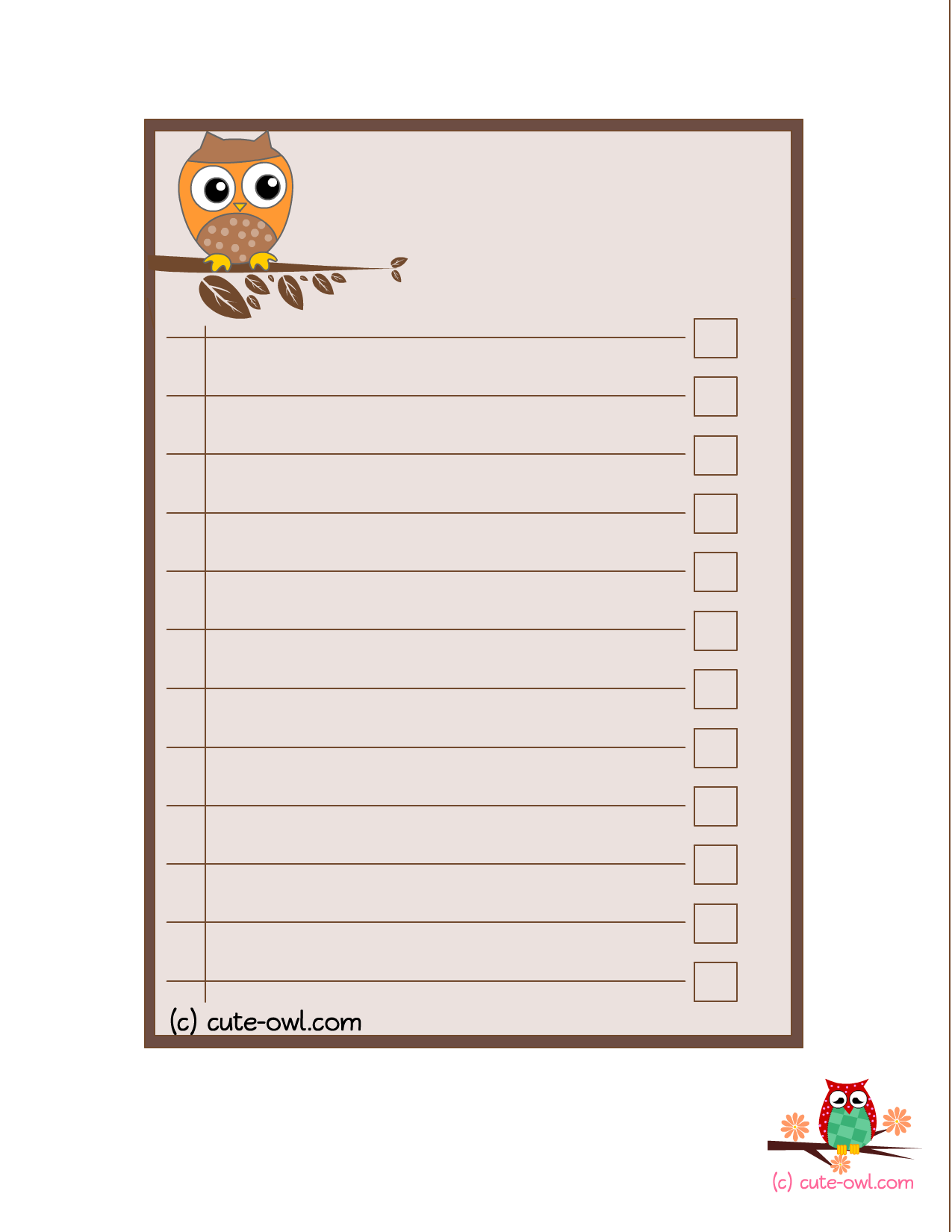 Cute To Do List Template Word from webstockreview.net