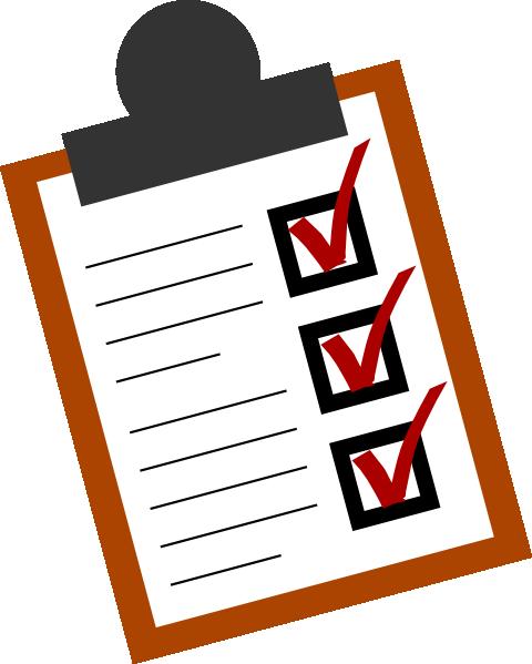 Checklist clipart done, Checklist done Transparent FREE ...