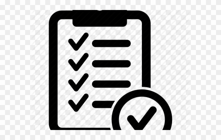 Checklist clipart icon. Icons png transparent