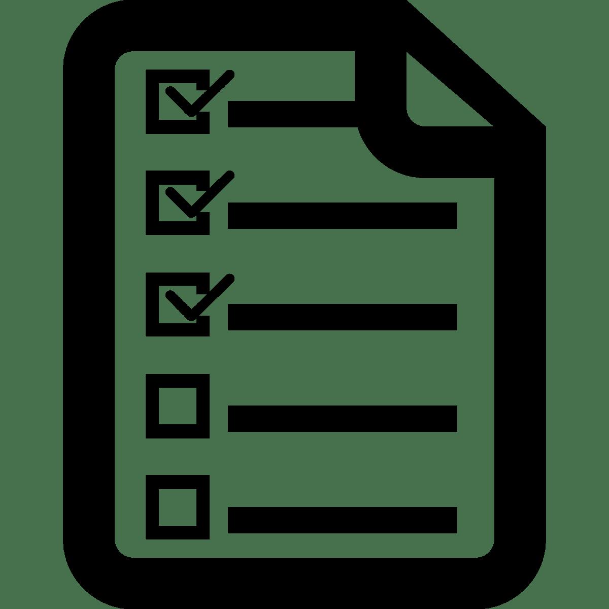Png list nconnections checklisticonchecklisticonpnglisticon. Checklist clipart icon