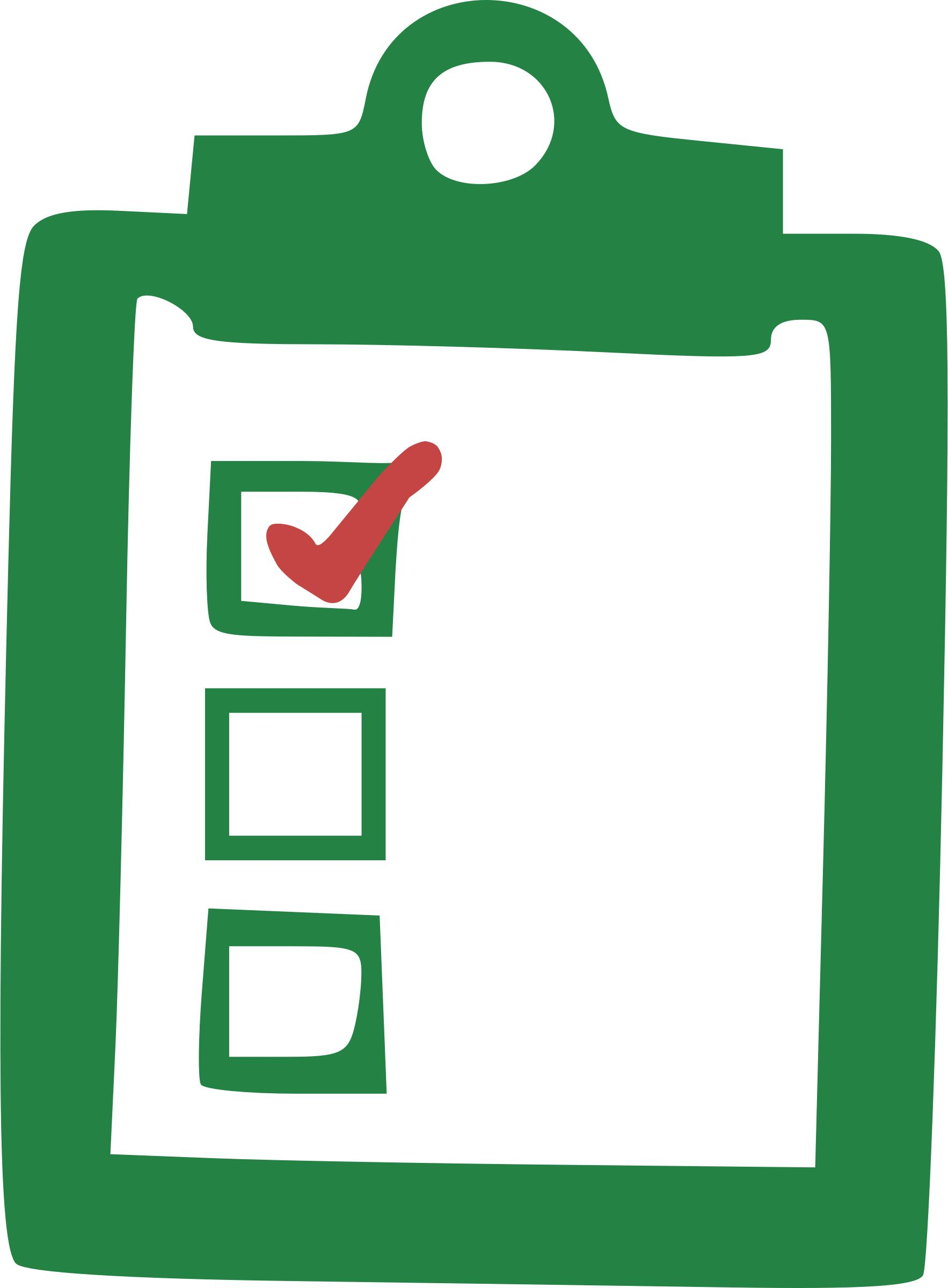 Checklist clipart icon. Icons png free and