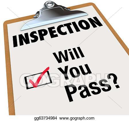 Stock illustration clipboard will. Checklist clipart inspection checklist