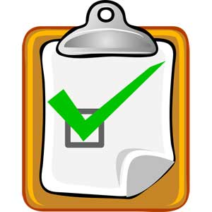 Fall home nustart inspections. Checklist clipart inspection checklist