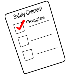 Checklist clipart inspection checklist. Blue safety by blueboot
