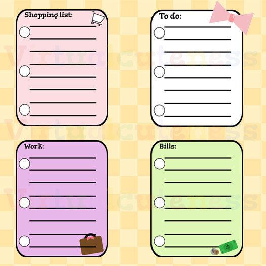Checklist clipart planner. Free incep imagine ex