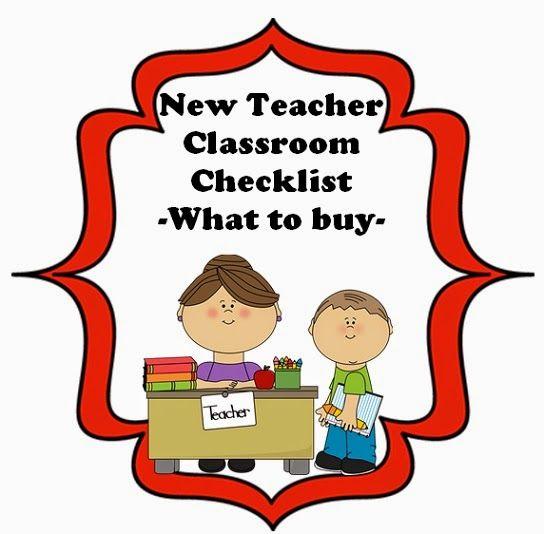 Checklist teacher checklist