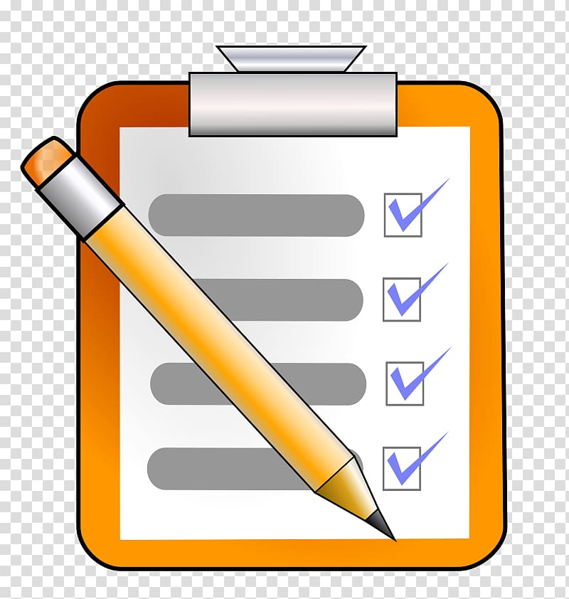 computers clipart checklist