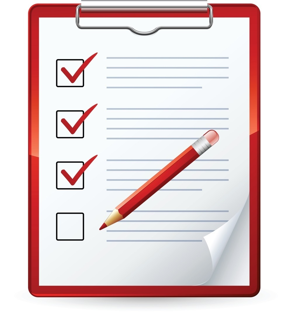 Clipboard clipart. Checklist world of example