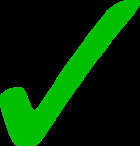 Checkmark clipart. Transparent green clip art