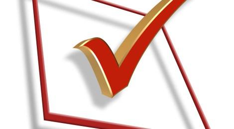 Checkmark clipart board. Update nov election results