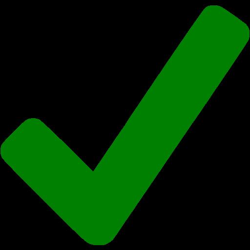 Checkmark clipart checkmart. Green icon free check