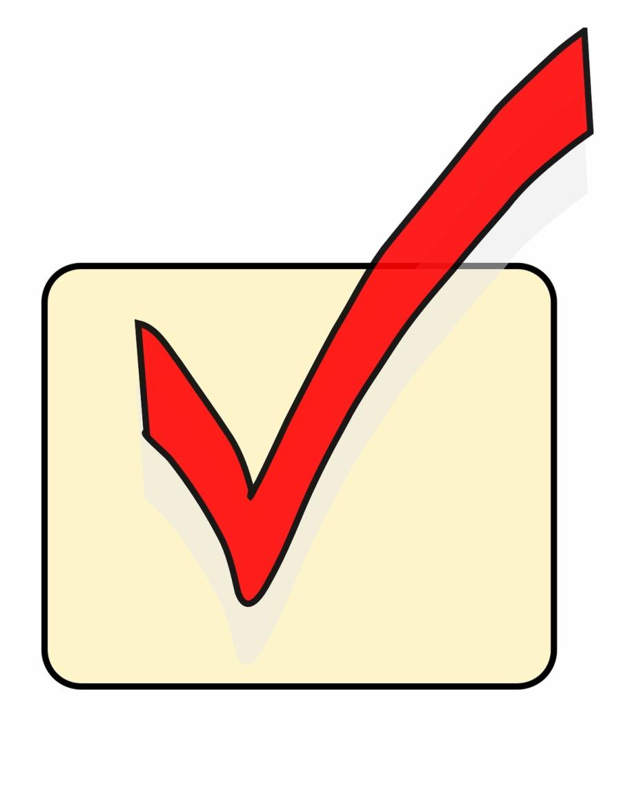 Checkmark clipart correct tick. Mark ok symbol yes