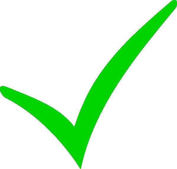 Green checkmark clip art. Clipboard clipart check mark