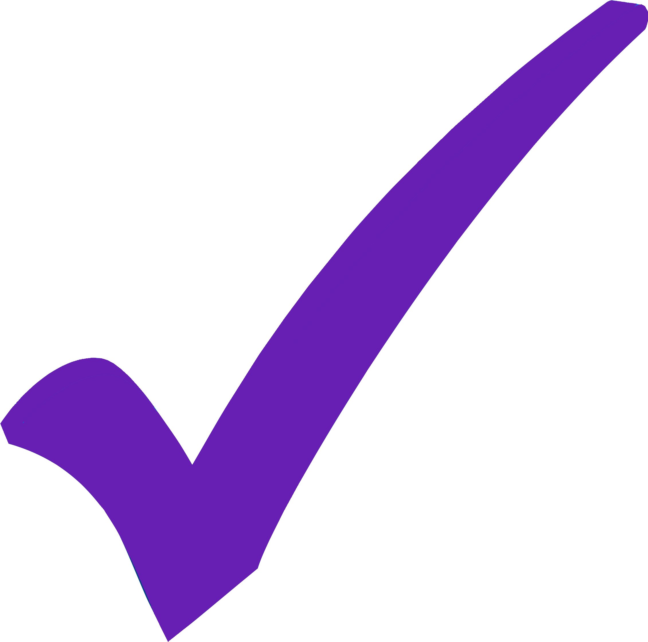 Checkmark clipart purple. Violet qigong lilac clip