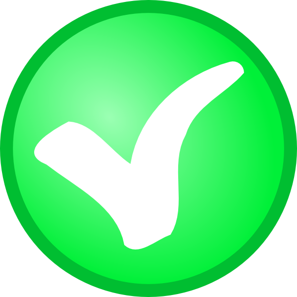 Green tick png clip. Checkmark clipart validation
