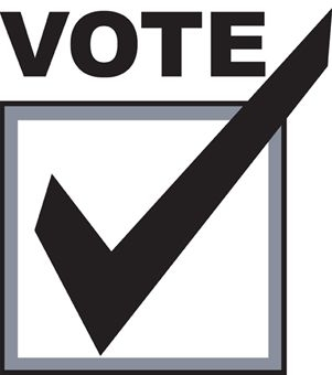 Voting clipart vote sign. Check mark free download