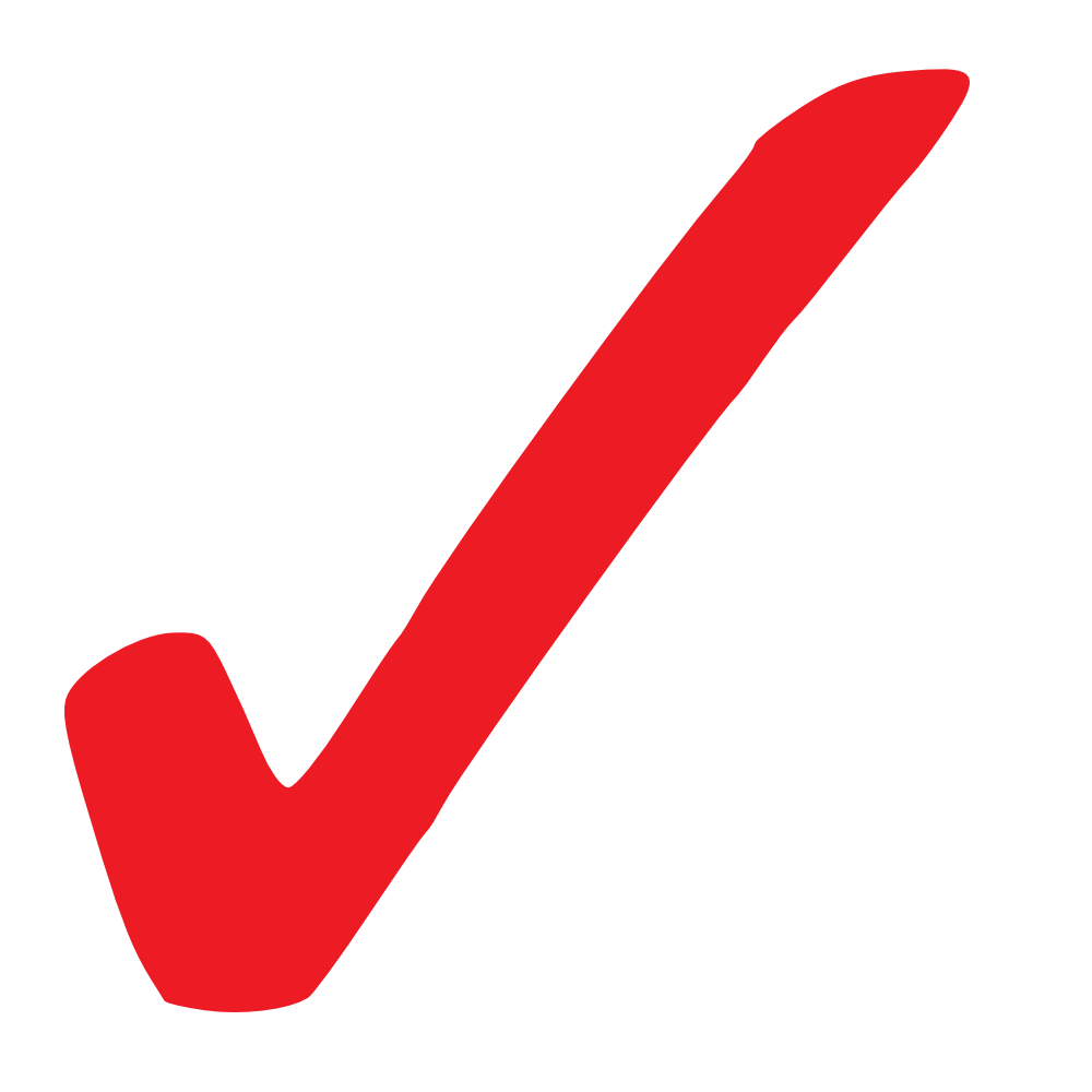 Check mark collection red. Checkmark clipart vote