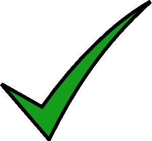 Check mark clip art. Checkmark clipart