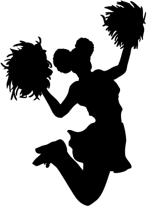 Transparent png stickpng. Cheerleading clipart