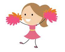 Cheer clipart animation. Cheerleading animated gifs click