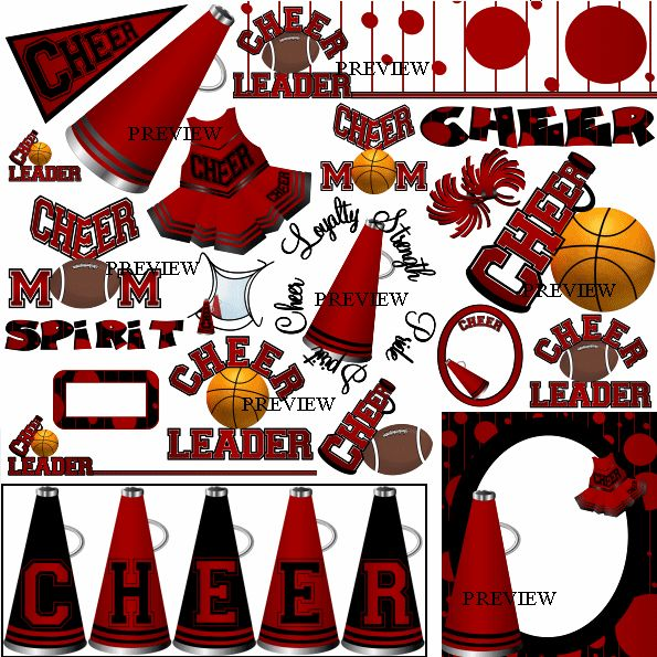 best cheerleading images. Cheer clipart basketball