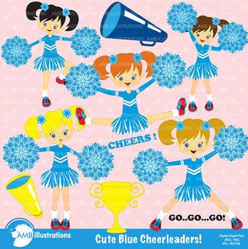 Cheer clipart blue. Cheerleading clip art teaching