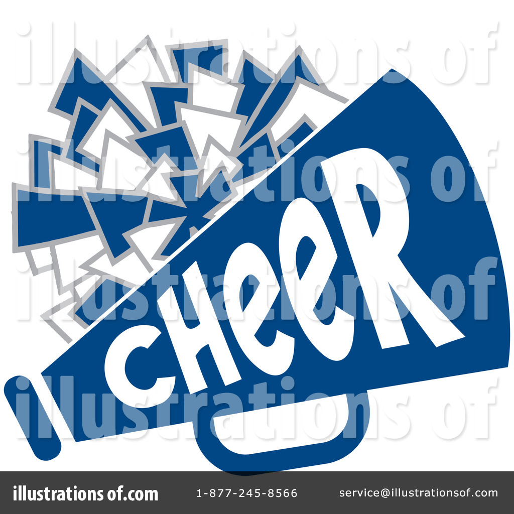 Illustration by johnny sajem. Cheerleading clipart