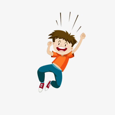 Cheer clipart boy. Cheering happy png image